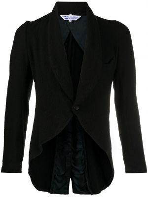 Шерстяной черный кардиган с подкладкой на пуговицах Comme Des Garçons Pre-owned