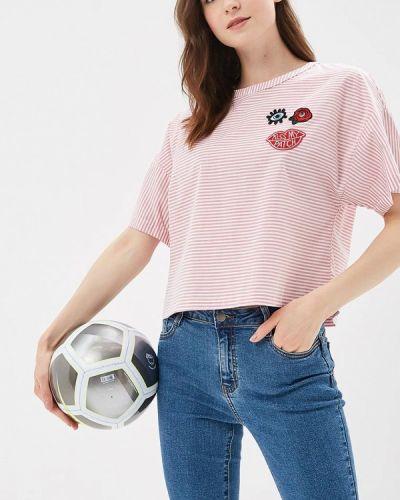 Розовая блузка осенняя Befree