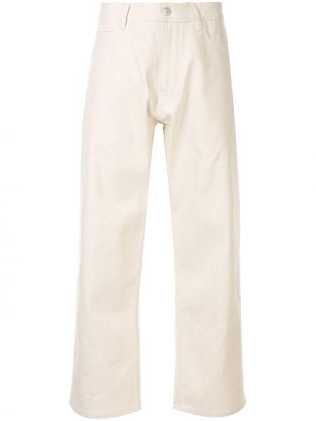 Широкие джинсы укороченные свободные Studio Nicholson