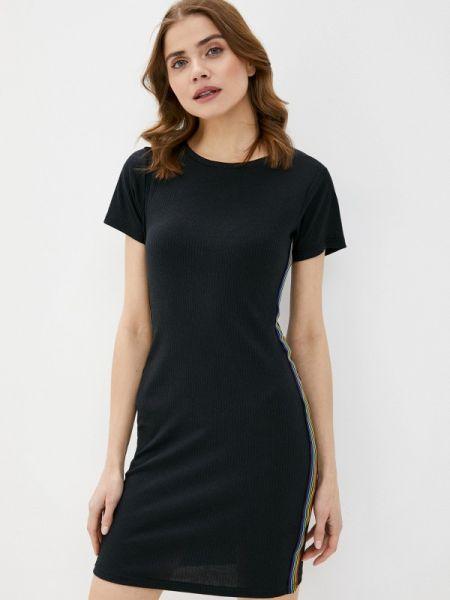 Платье футболка черное Brave Soul