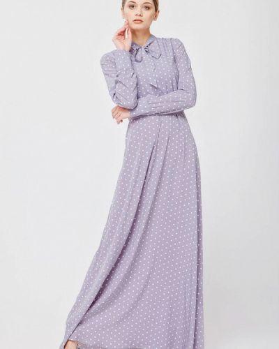 Вечернее платье весеннее серое Nai Lu-na By Anastasia Ivanova
