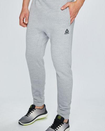 Спортивные брюки на резинке прямые Reebok