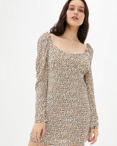 Платье - бежевое B.style