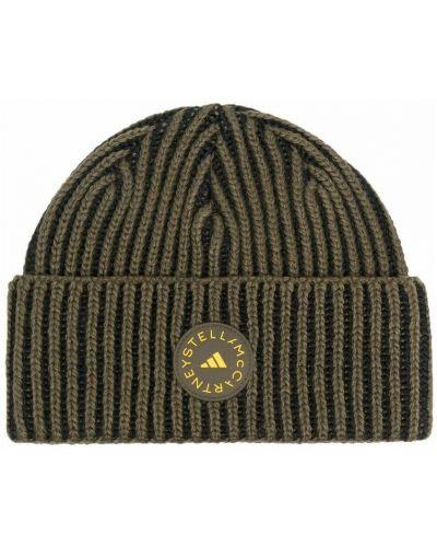 Czarna czapka beanie Adidas By Stella Mccartney