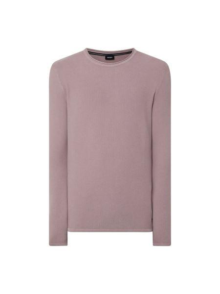 Sweter bawełniany - różowy Joop! Collection