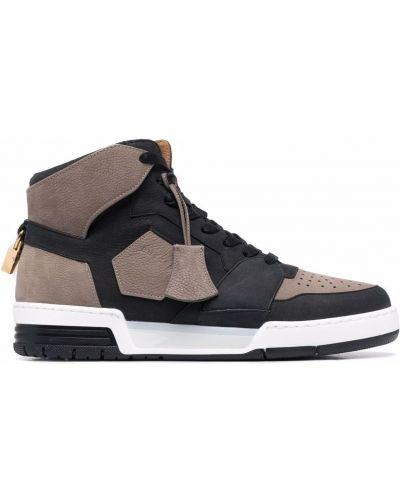 Czarne sneakersy Buscemi