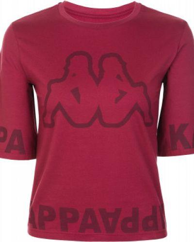 Спортивная футболка свободная красный Kappa