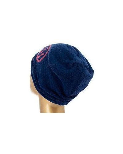 Синяя шапка бини Armani Jeans