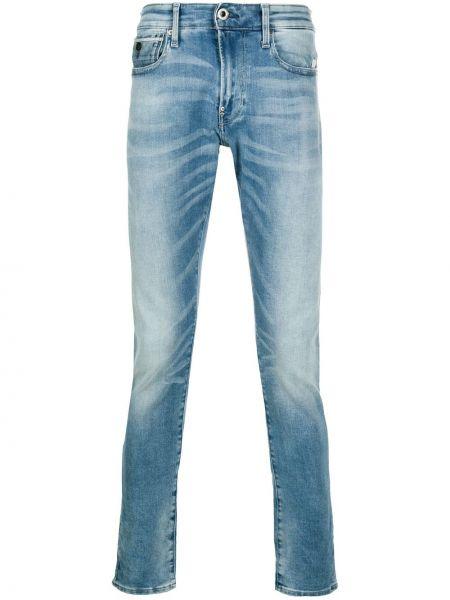 Облегающие синие джинсы-скинни на молнии G-star Raw