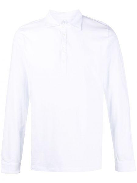 Белая классическая прямая рубашка с воротником Cenere Gb