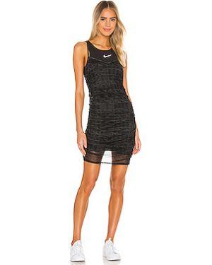 Платье мини с оборками сетчатое Nike