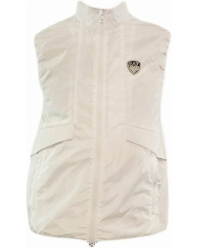 Biała kamizelka Emporio Armani Ea7