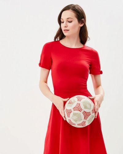 Платье осеннее красный Dorothy Perkins