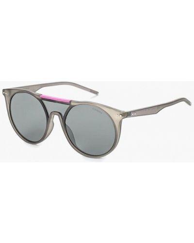 Серые солнцезащитные очки Polaroid