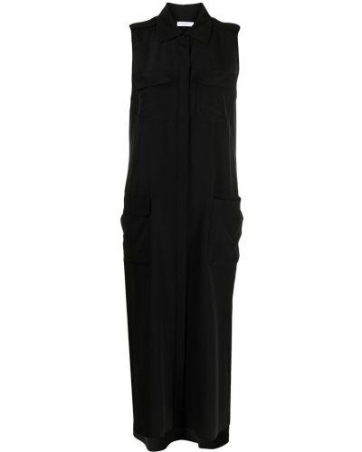 Черное платье классическое Equipment