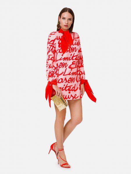 Красное платье Elisabetta Franchi