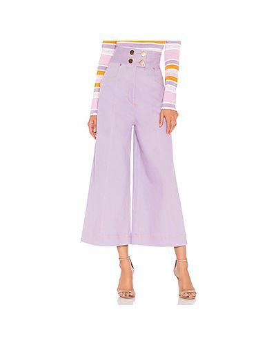 Широкие джинсы с накладными карманами с карманами по бокам Alice Mccall