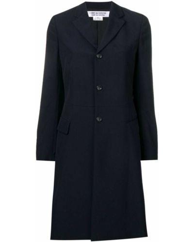 Однобортное пальто классическое с капюшоном с воротником Comme Des Garçons Comme Des Garçons