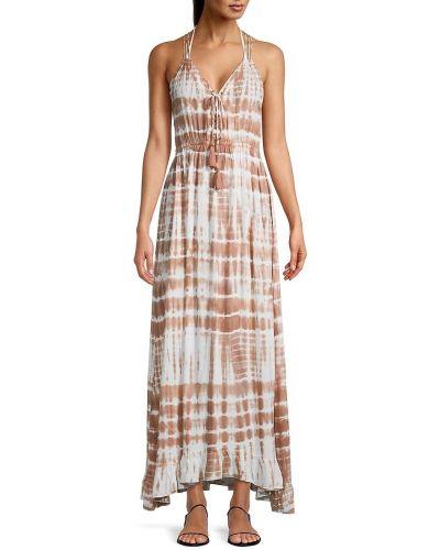 С ремешком платье макси на бретелях с V-образным вырезом Tiare Hawaii