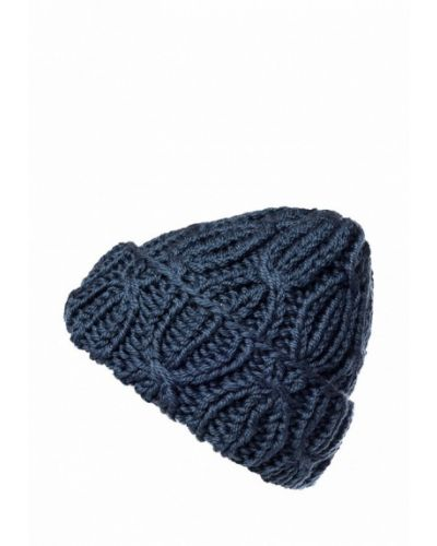 Синяя шапка осенняя A.t.t.