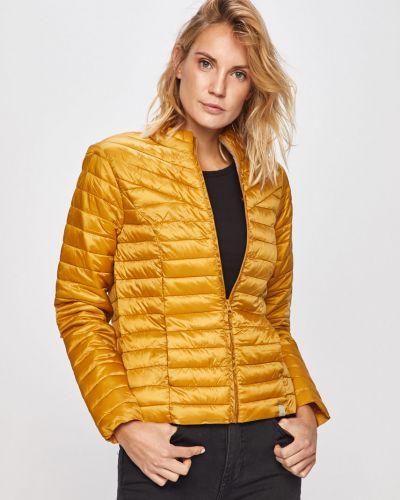 Прямая желтая стеганая куртка Jacqueline De Yong