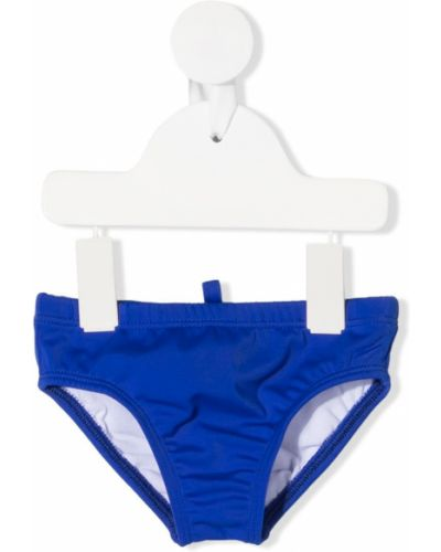 Kąpielówki - niebieskie Dsquared2 Kids