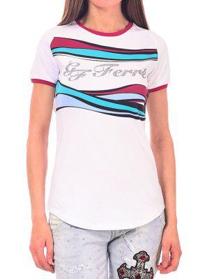 Хлопковая футболка Gf Ferre