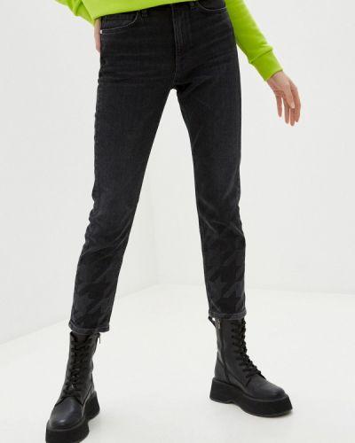 Прямые серые джинсы Guess Jeans