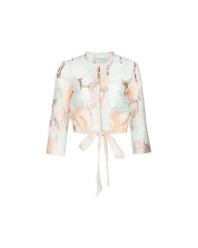 Пиджак из полиэстера - розовый Tresophie