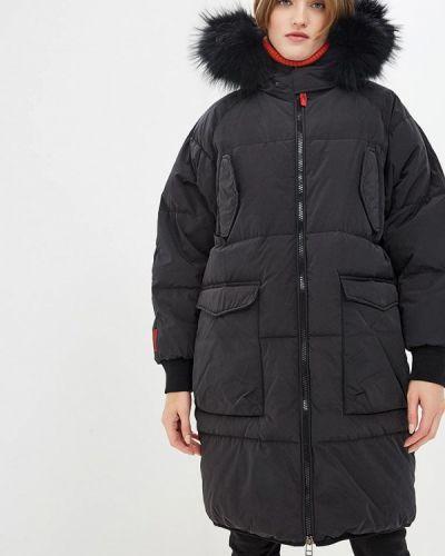 Зимняя куртка черная осенняя Freedomday