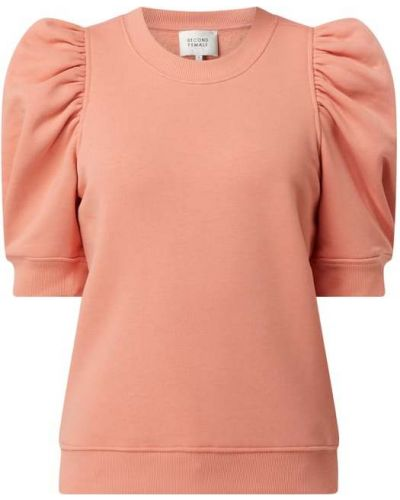 Pomarańczowa bluza bawełniana Second Female
