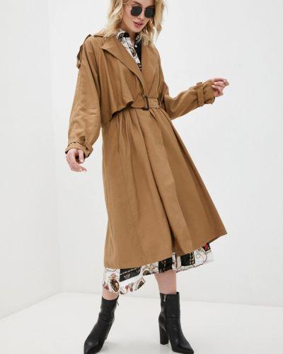 Плащ - коричневый B.style