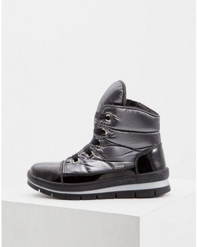 Кожаные ботинки осенние на каблуке Jog Dog