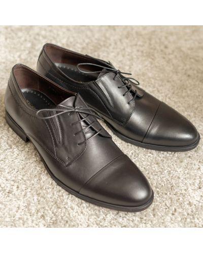 Кожаные туфли - черные Ikos