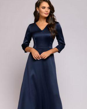 Вечернее платье с декольте на молнии 1001 Dress