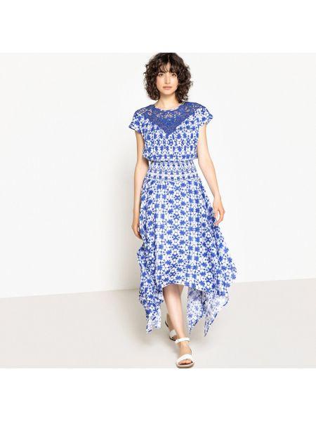 Платье миди мини с поясом La Redoute Collections