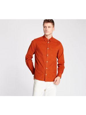 Pomarańczowa koszula Norse Projects