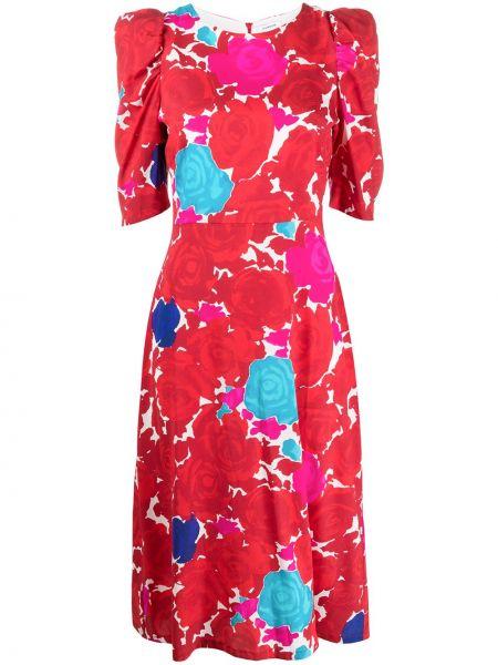 Платье мини миди с цветочным принтом P.a.r.o.s.h.