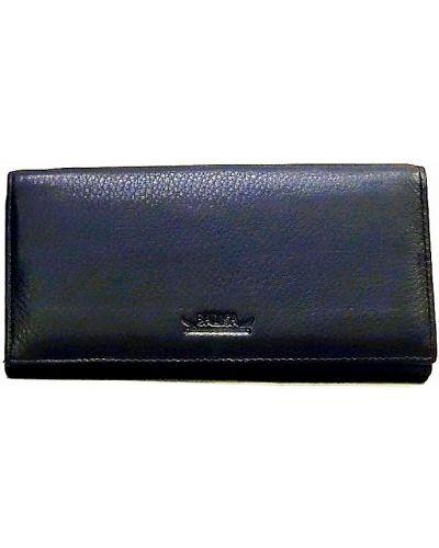 Кожаный кошелек - черный Balisa