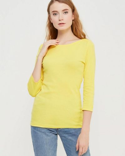 Желтый лонгслив United Colors Of Benetton