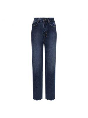 Хлопковые джинсы - синие Ksubi