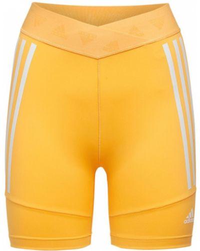 Велосипедки - оранжевые Adidas Performance