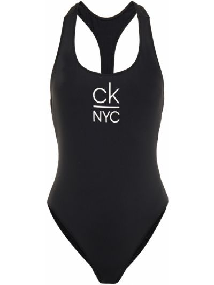 Черный купальник с подкладкой Calvin Klein