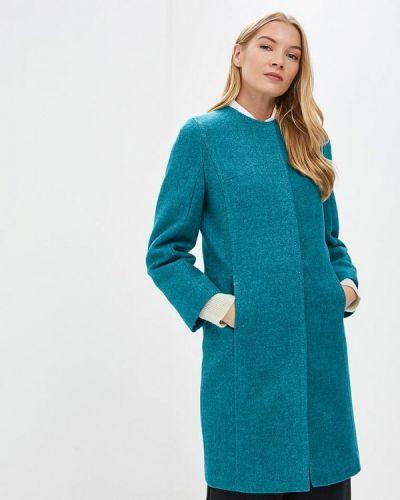 Пальто демисезонное бирюзовый Ovelli