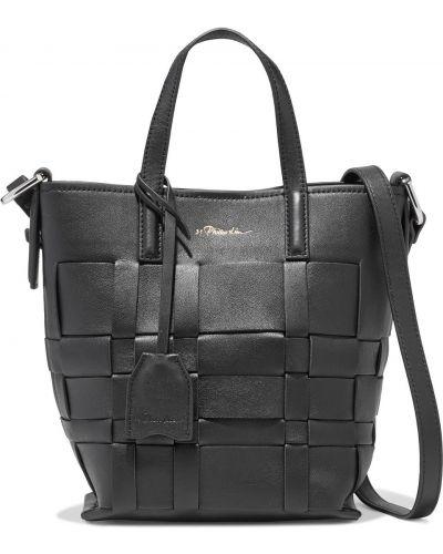 Czarna torba na ramię skórzana 3.1 Phillip Lim