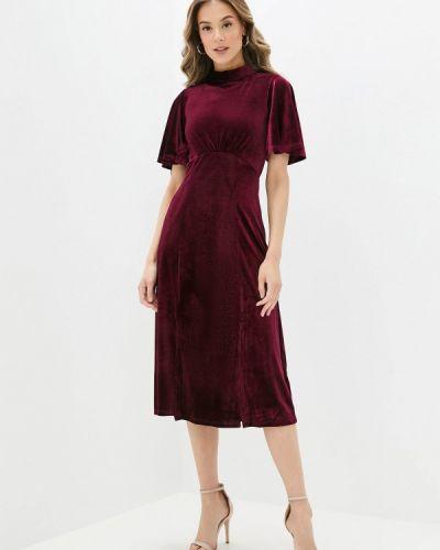 Прямое красное платье Yumi