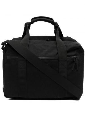 Czarny plecak z siateczką z nylonu Filson