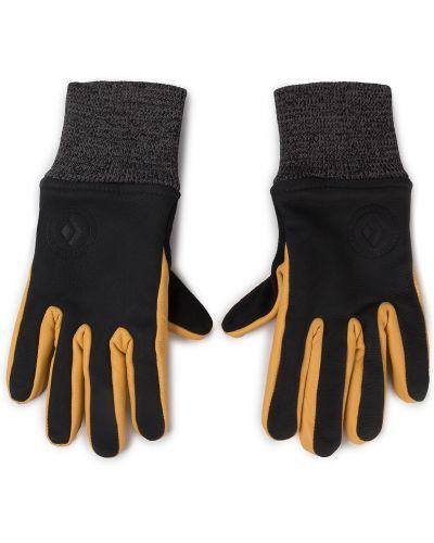 Skórzany rękawiczki wodoodporny zamsz Black Diamond