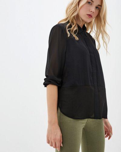 Блузка с длинным рукавом черная Tantra