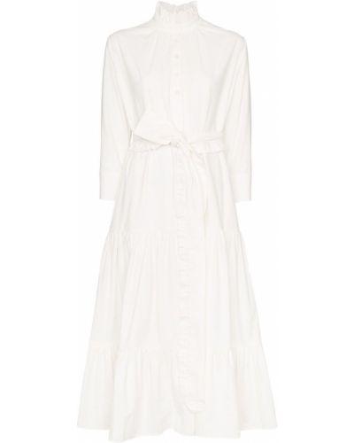 Платье с поясом на пуговицах платье-майка Evi Grintela